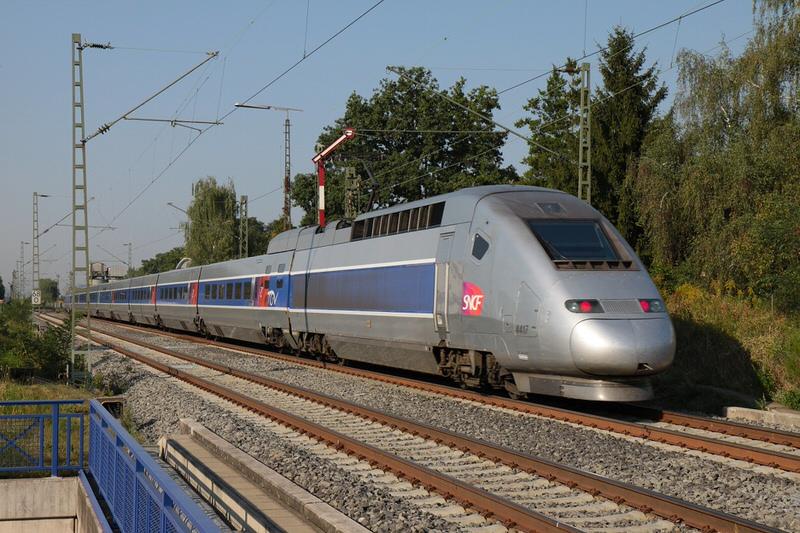 TGV POS, 357.2 mph, France