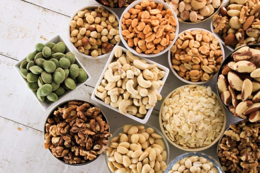 Top 10 nuts varieties