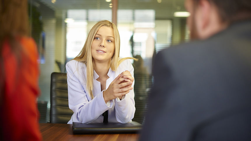 Talking Too Much while job interview
