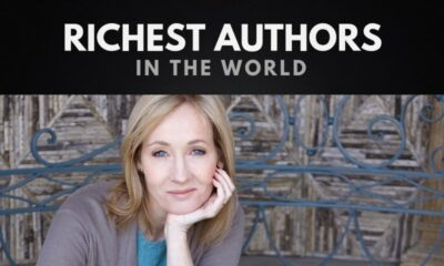 The 10 Richest Authors of All Time
