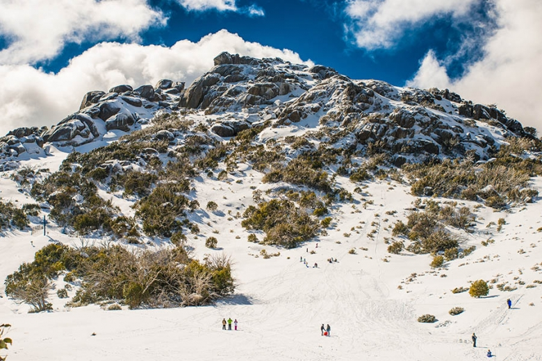 The Australian Alps get more snow than the Swiss Alps