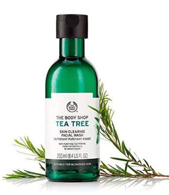 The Body Shop Tea Tree Skin Cleaning Facial Cleanser