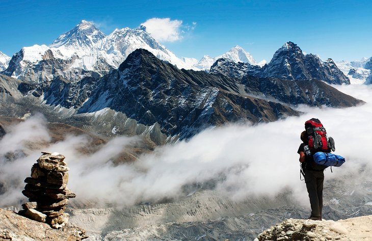 The hike to Everest Base Camp