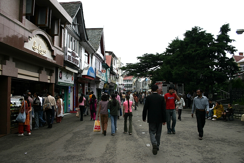 Mall Road, Shimla - Wikipedia
