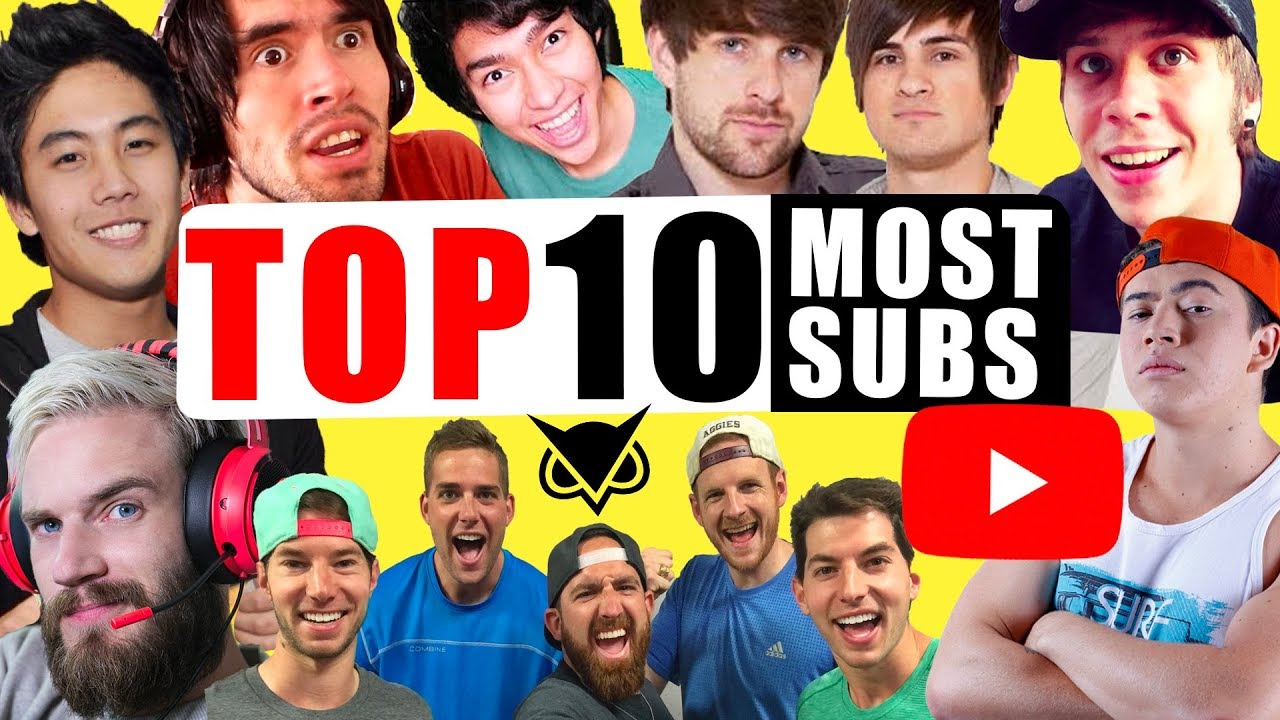 Top 10 Biggest YouTube Channels
