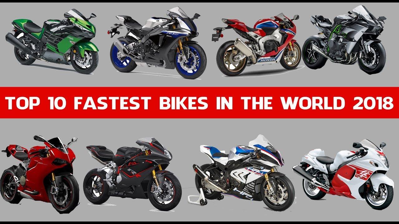 Top 10 Fastest Bikes