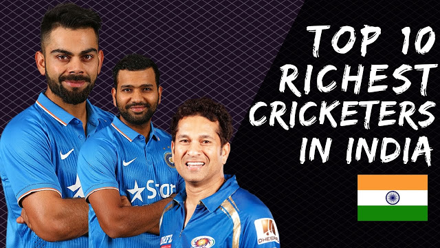 Top 10 Richest Cricketer in India