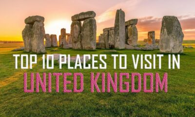 Top 10 places in Uk