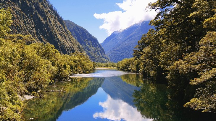 View from the Milford Track