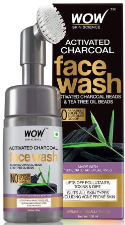 WOW Skin Science Charcoal Foaming Face Wash