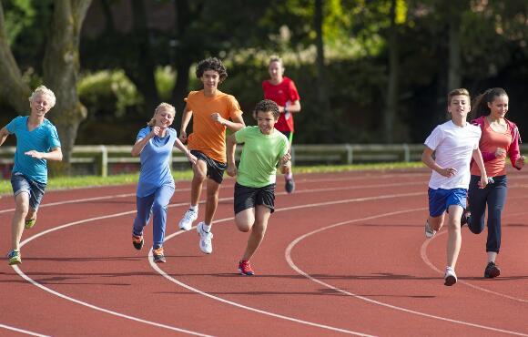 Walking/running games