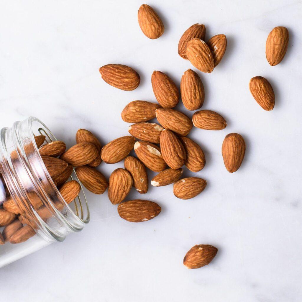 almonds-crop