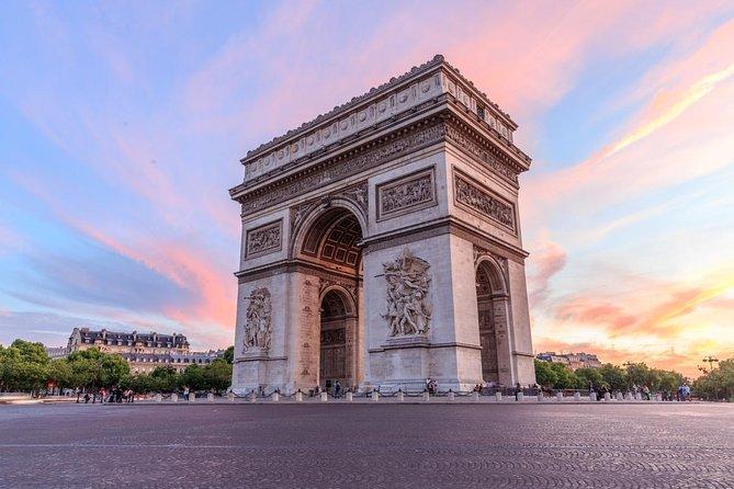 Arc de Triomphe Skip-the-Line Entry Including Terrace Access 2021 - Paris