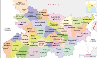 bihar district map 1