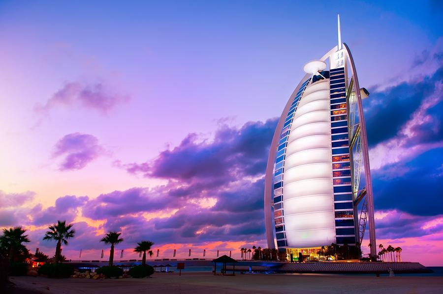 Burj Al Arab - The World's Only 7 Star Hotel, Dubai