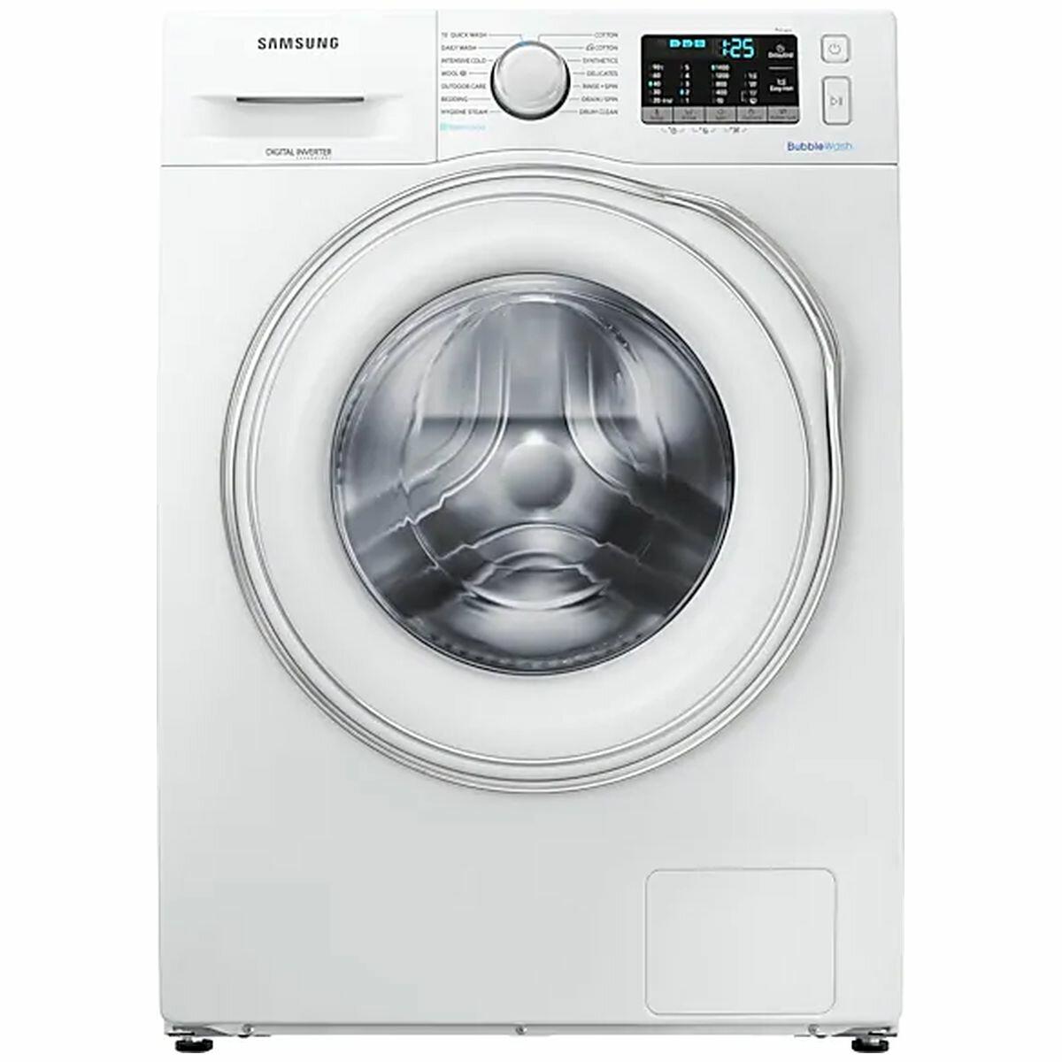 e2b84c73ca3f9077cc6d37a9015ec2c2f1bb0c5d Samsung 95kg Front Load Washing Machine WW95N54F5CW Hero high