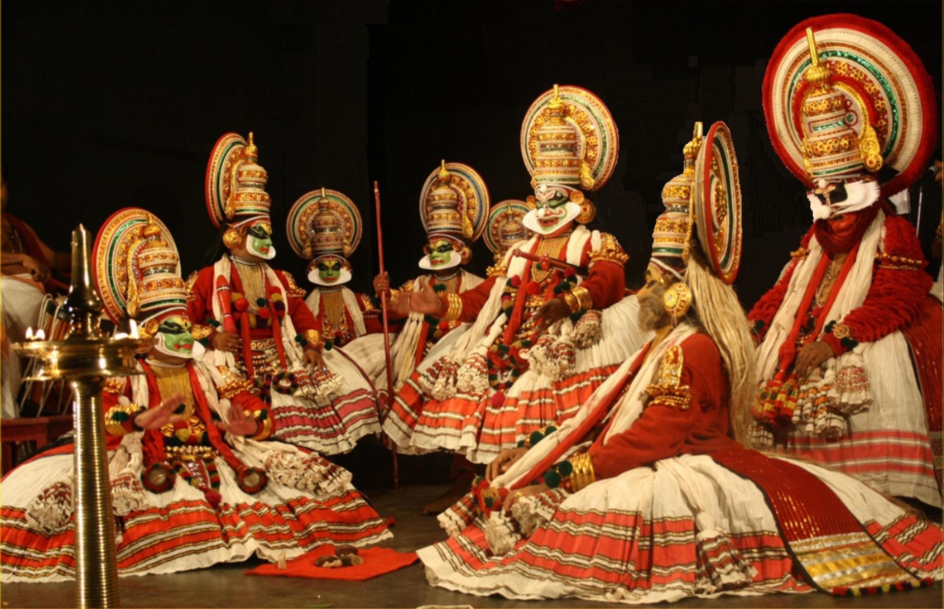 Kathakali dance - Traditional dance of Kerala History