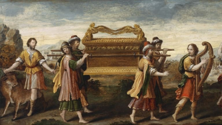 What's the fate of the Ark of the Covenant?