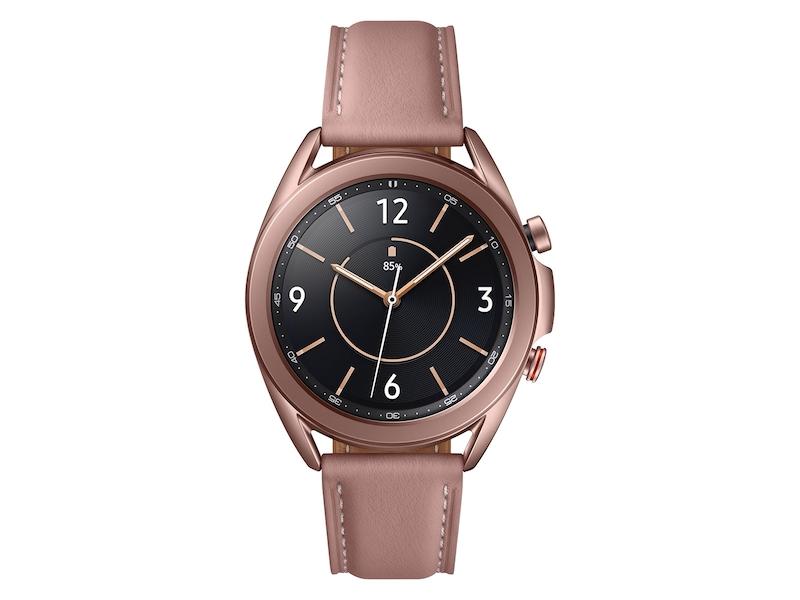 Galaxy Watch3 (41MM), Mystic Bronze (LTE) Wearables - SM-R855UZDAXAR | Samsung US