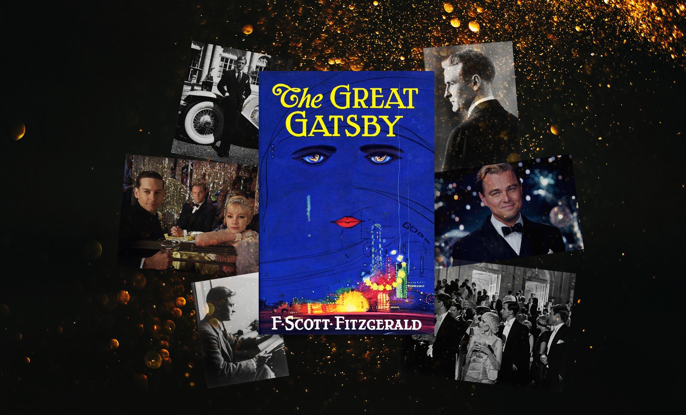 The Great Gatsby, by F. Scott Fitzgerald