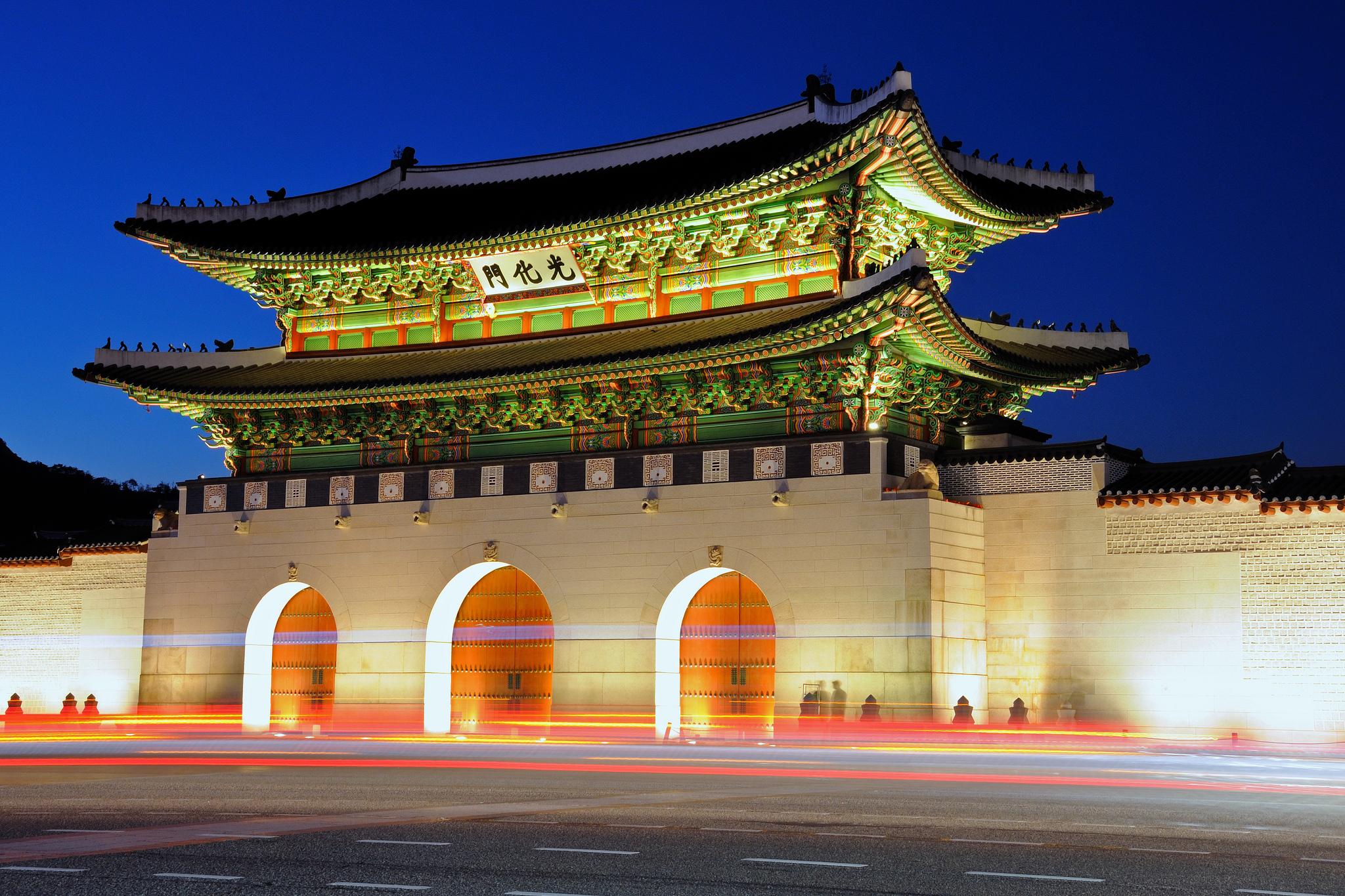 Gwanghwamun Gate | blueberryyummy
