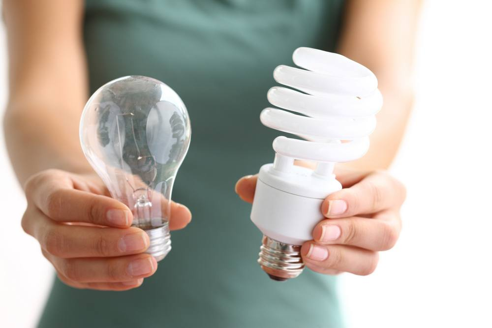 Try to use energy-efficient lighting