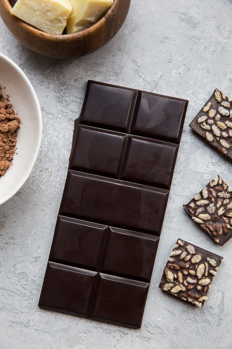 How to Make Dark Chocolate Bars - The Roasted Root