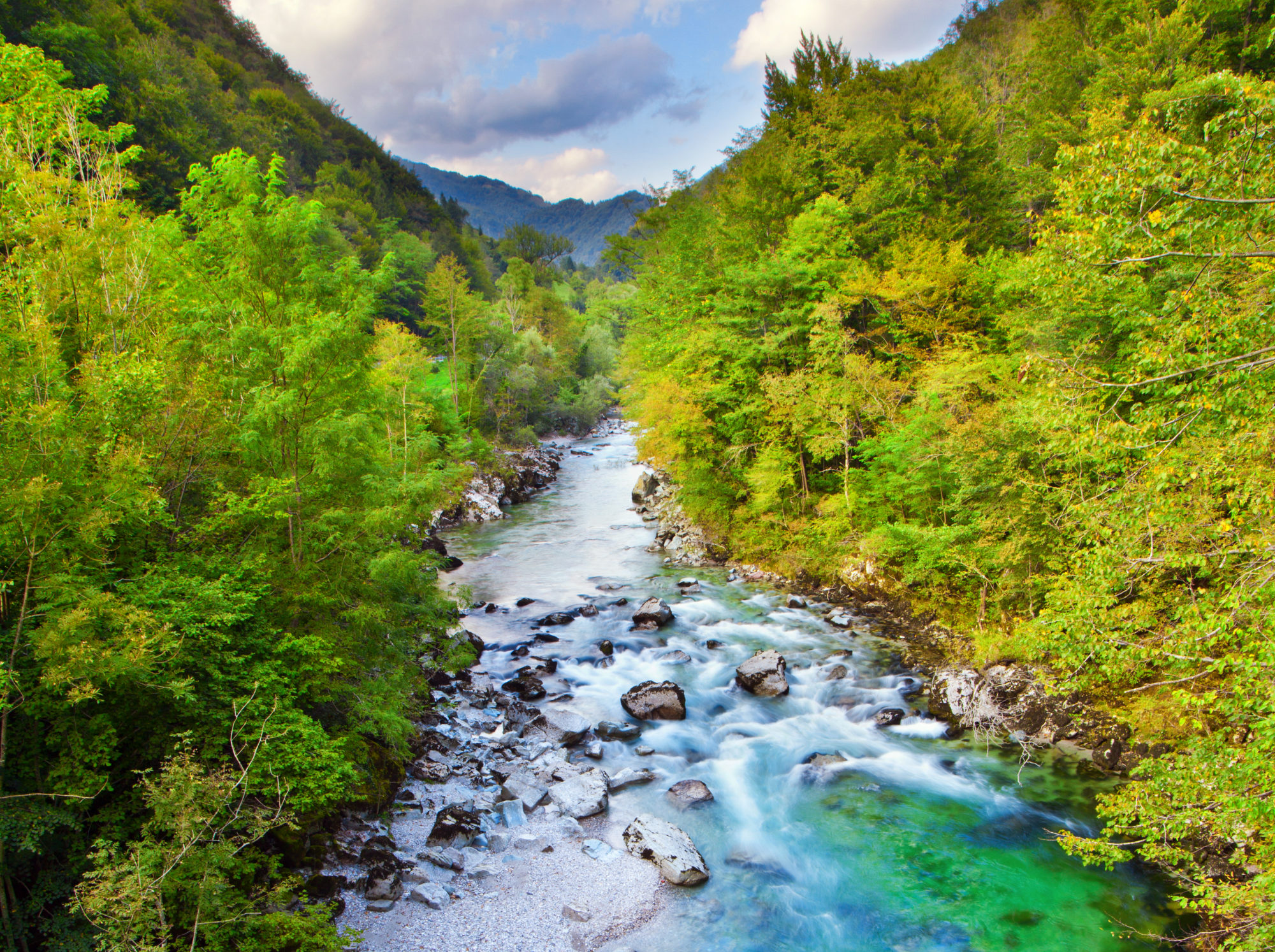 idrijca-river-spring - TRAVELSLOVENIA.ORG – All You Need To Know To Visit Slovenia