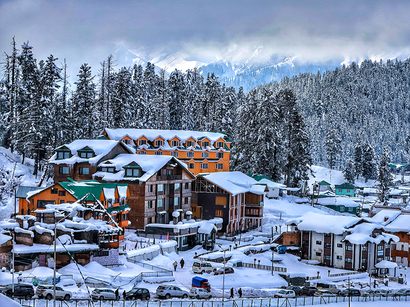 Photo Of The Day: Snow-capped Gulmarg   Forbes India