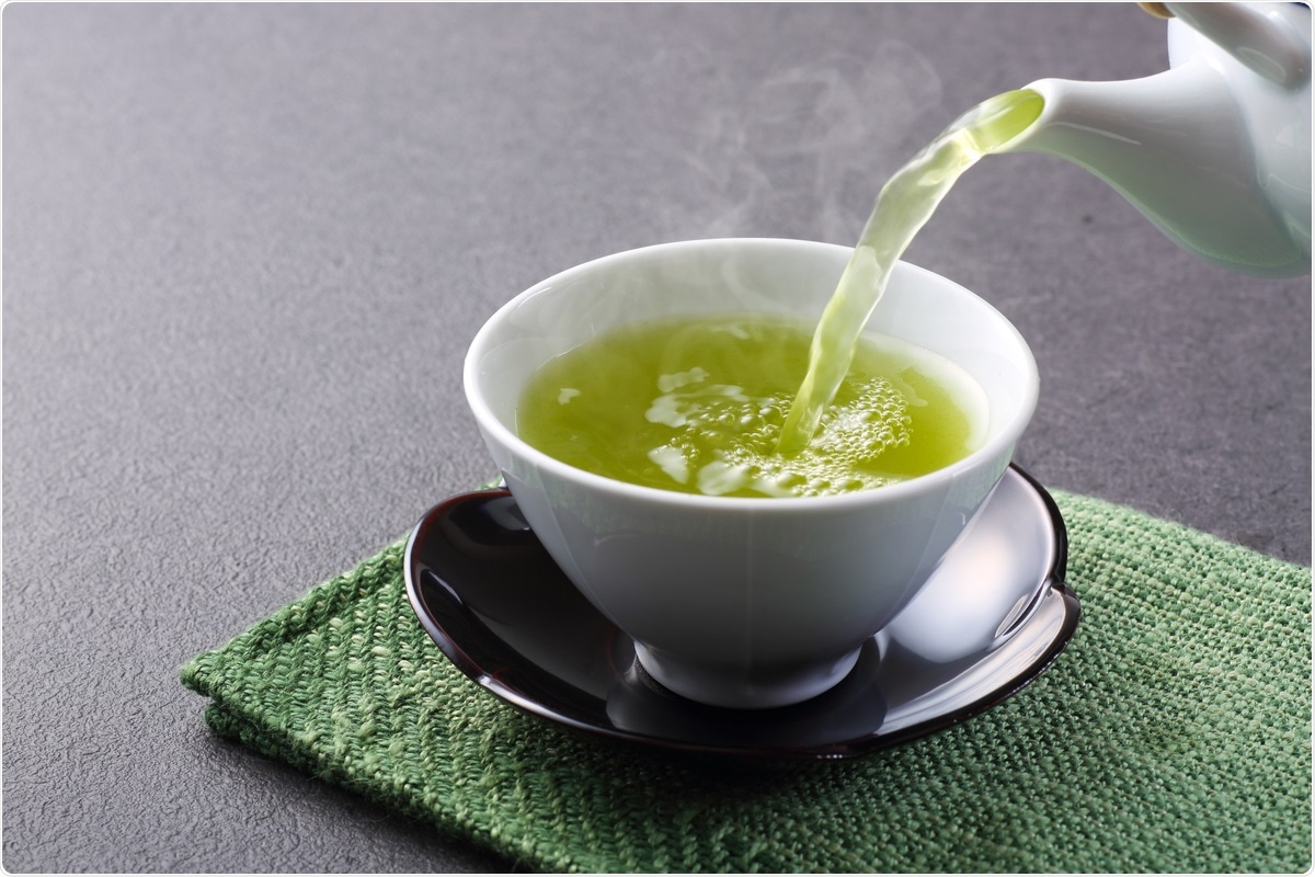 A green tea compound shows anti-SARS-CoV-2 properties in vitro