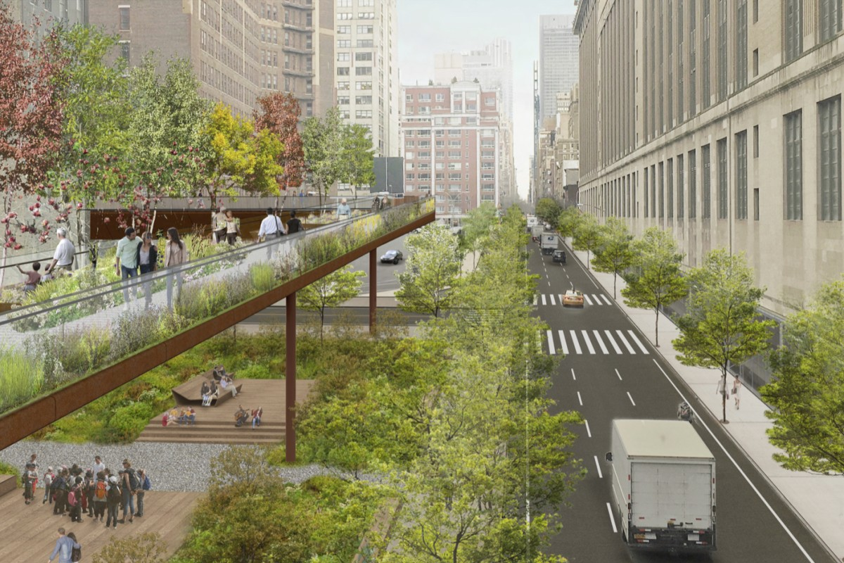 High Line expansion will take more feet off busy New York streets