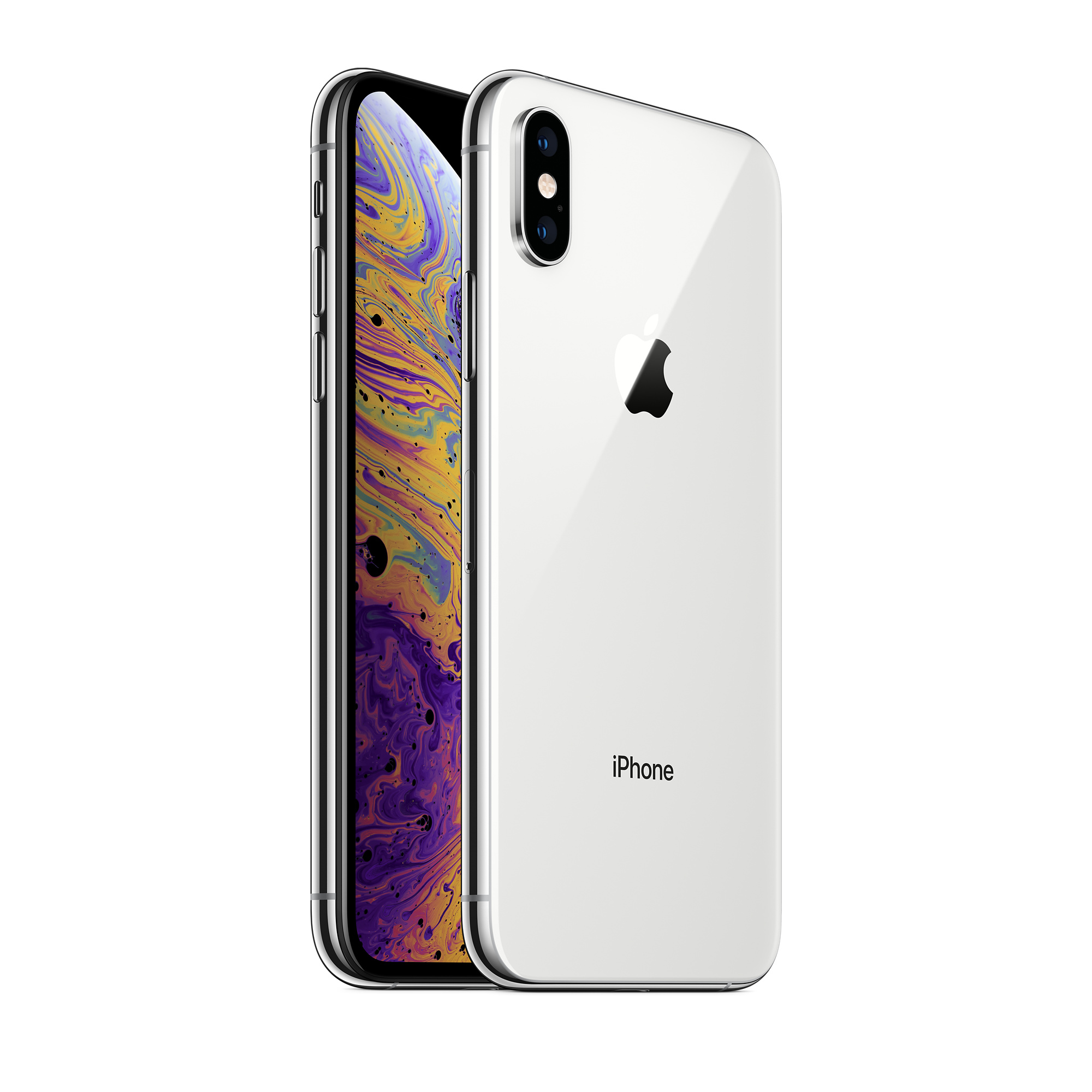 Refurbished iPhone XS 64GB - Silver (Unlocked) - Apple