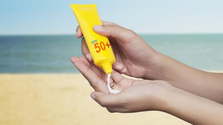 Don't skip sunscreen