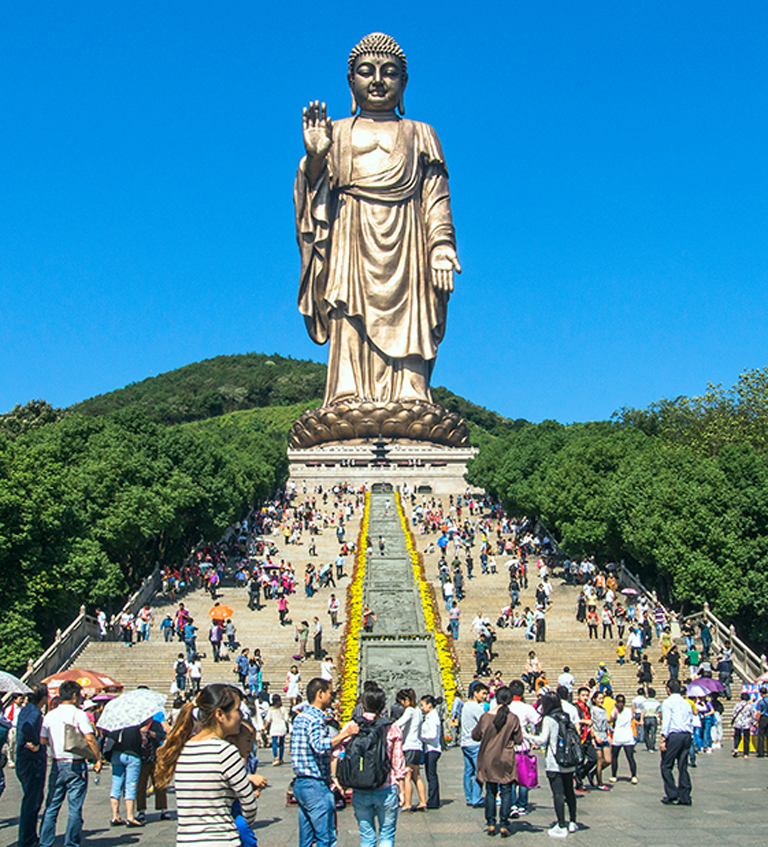 Lingshan Grand Buddha, Wuxi Lingshan Buddha Scenic Area