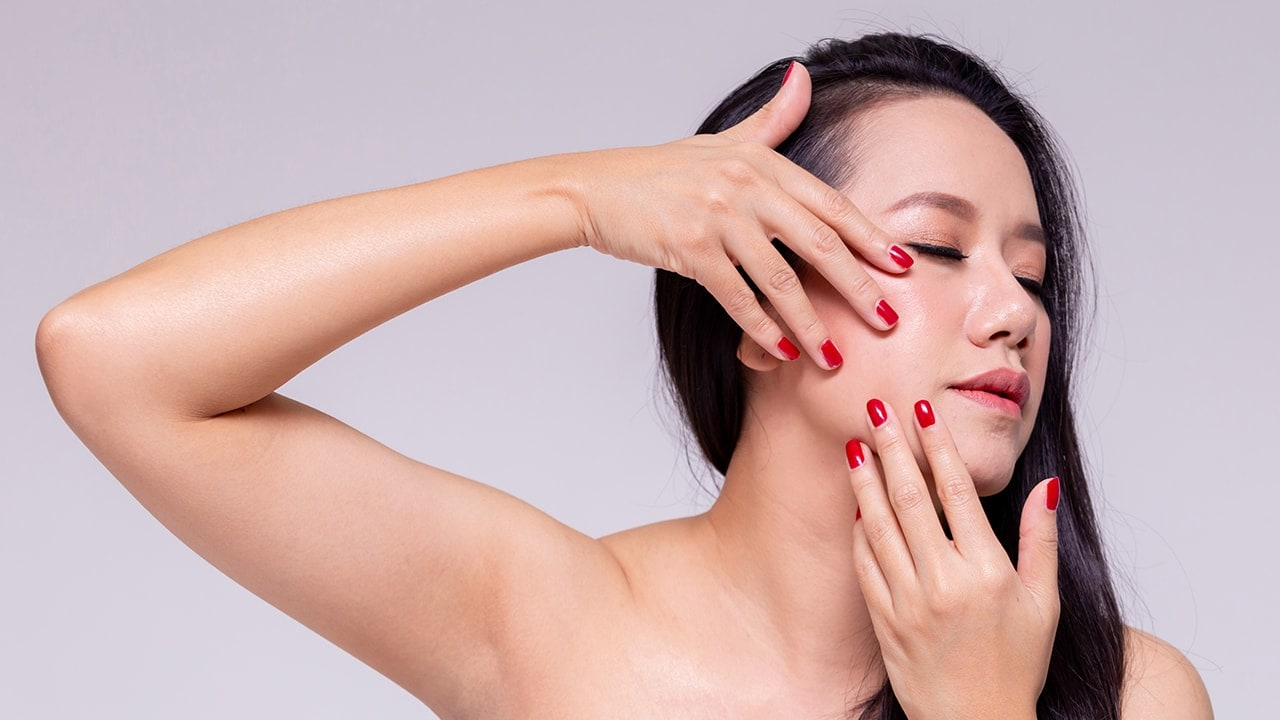 Stop touching your skin more often