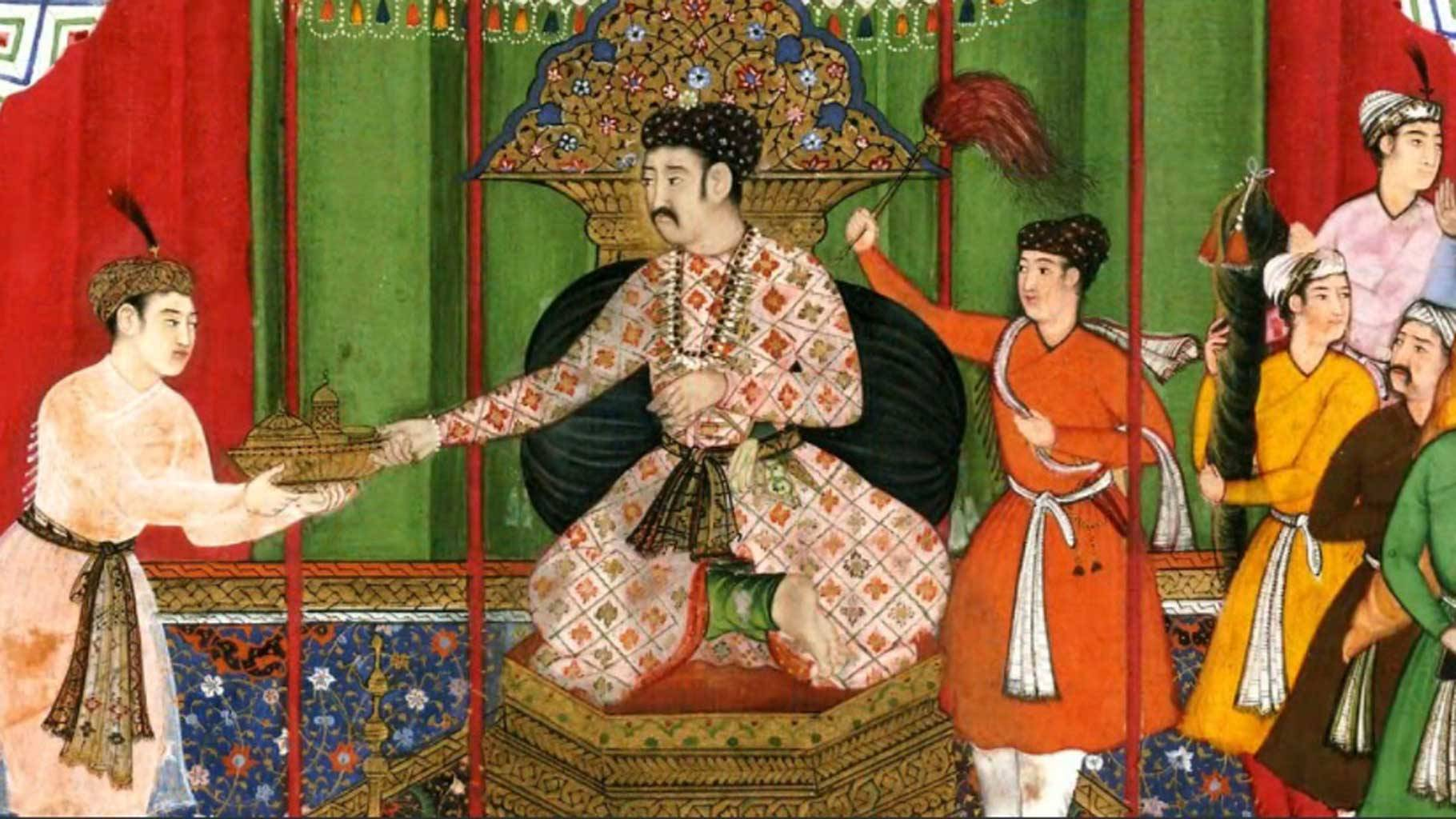No, Mughals didn't loot India. They made us rich