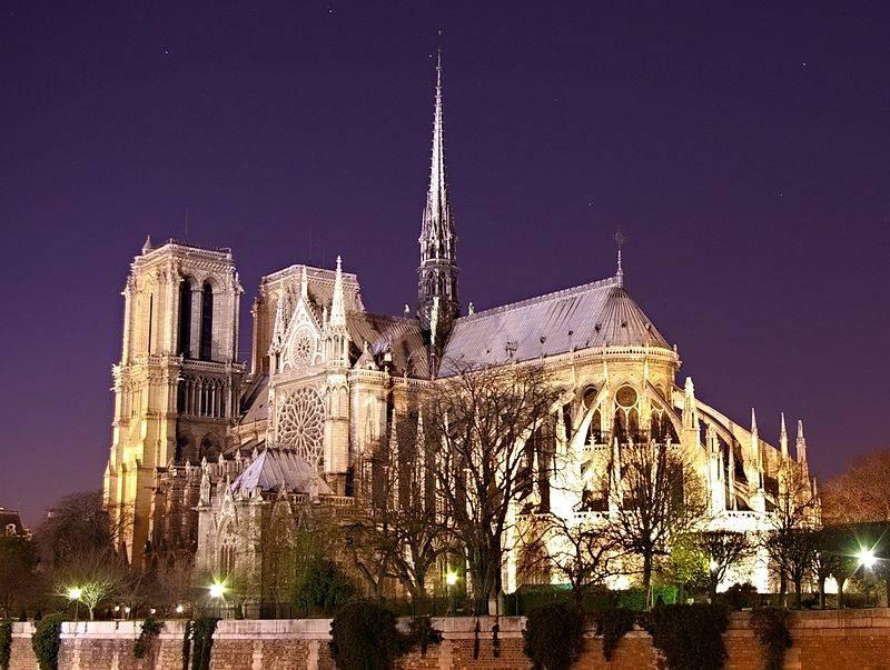Notre Dame De Paris, France - Map, Facts, History, Architecture