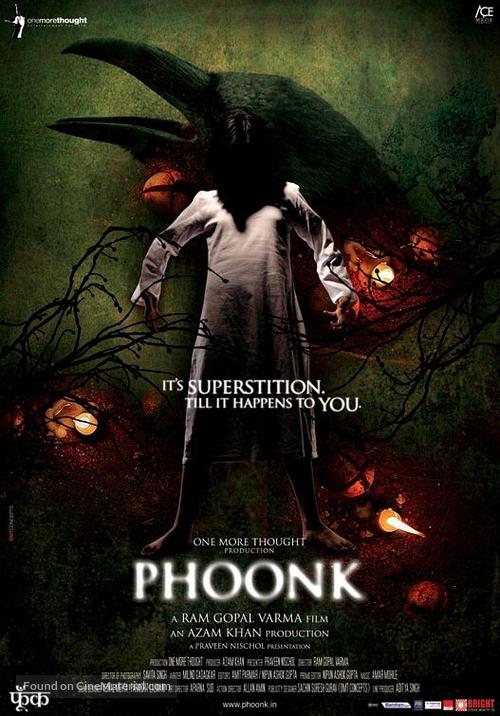 Phoonk (2008) Indian movie poster