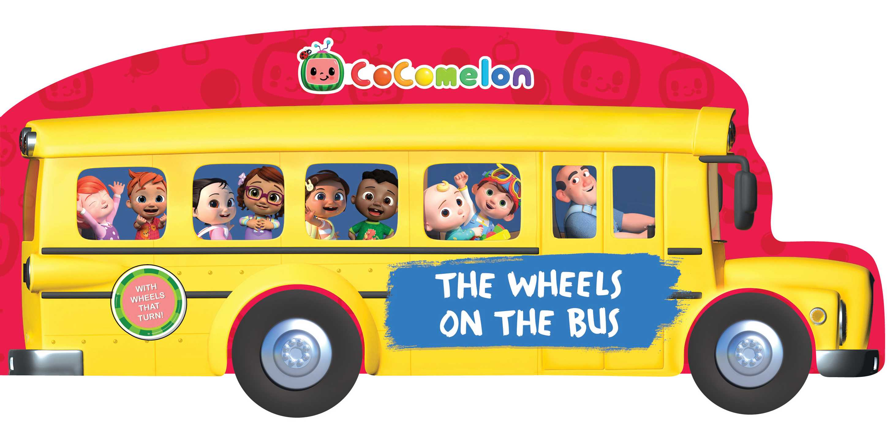 CoComelon The Wheels on the Bus | Book by May Nakamura | Official Publisher Page | Simon & Schuster