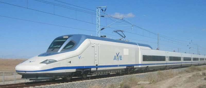 Talgo 350, 217 mph, Spain