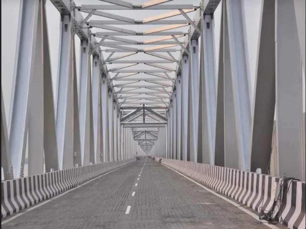 Bihar: Union minister Nitin Gadkari to inaugurate western flank of Gandhi Setu on July 31 | Patna News - Times of India