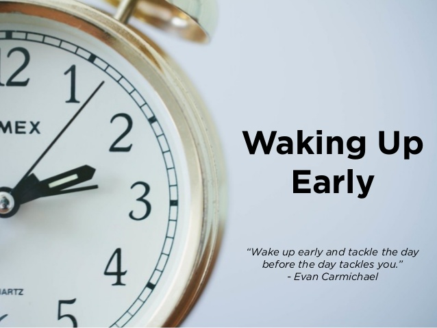 Top 10 benefits of waking up early